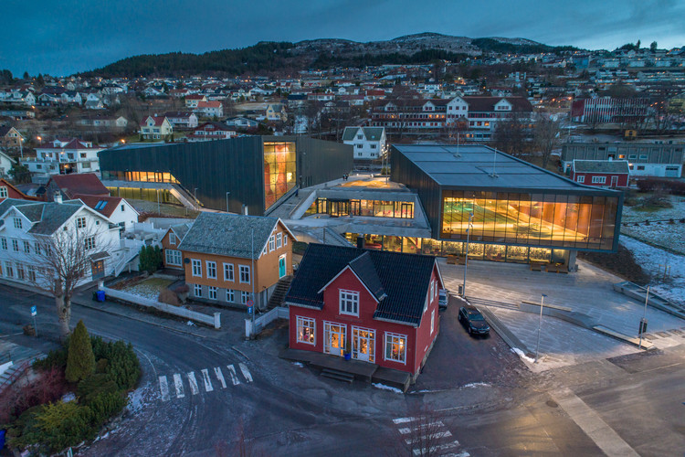 Ulstein Arena / Lund+Slaatto Architects, Cortesía de Lund+Slaatto Architects