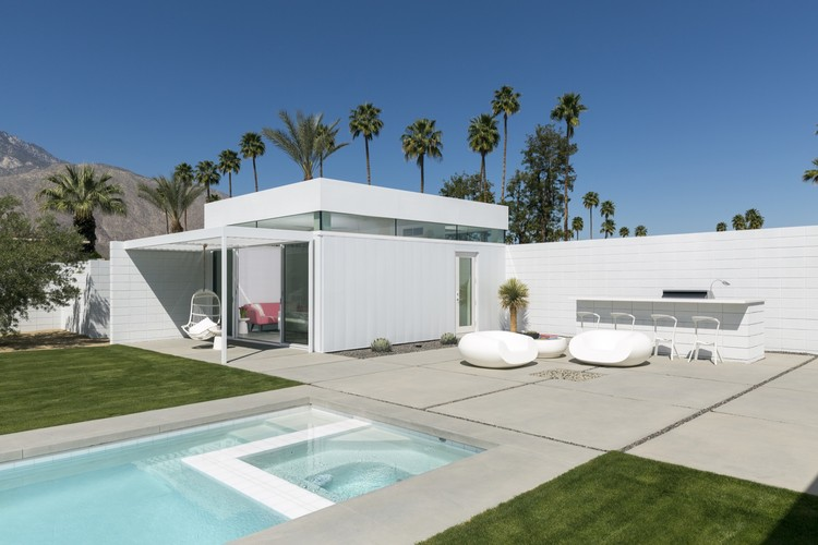 Residência Palm Springs / Jim Jennings Architecture + LINEOFFICE Architecture + Martha Angus Interior Design, © Lance Gerber