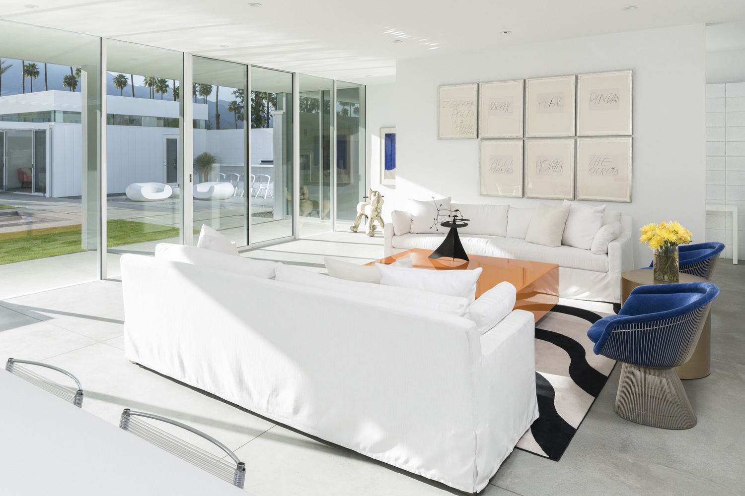 architecture and interior design. Gallery Of Palm Springs Residence / Jim Jennings Architecture + LINEOFFICE Martha Angus Interior Design - 6 And A