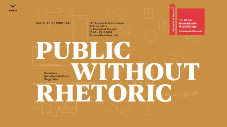 """Pavilhão Português na Bienal de Veneza 2018 apresenta """"Public Without Rhetoric"""", Cortesia de Direção-Geral das Artes"""