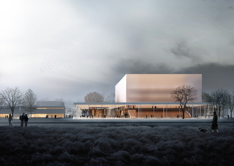 "New Concert Hall Design in Nuremberg Envisaged as ""House With Four Fronts"", Courtesy of Topotek 1"