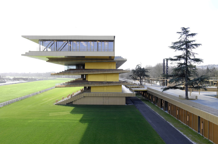Paris Longchamp Racecourse / Dominique Perrault Architecte, © Vincent Fillon