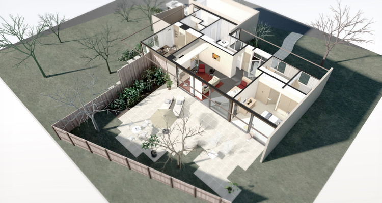 A Virtual Look Into J R Davidson's Case Study House #11, Courtesy of Archilogic
