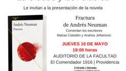 """La Ciudad y Las Palabras: """"Fractura"""" de Andrés Neuman"""