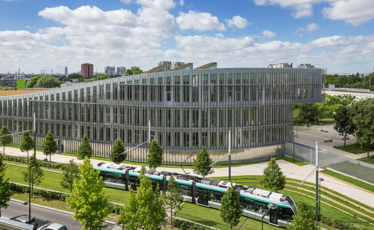 Biblioteca de la Universidad Edgar Morin  / ROPA & Associés Architectes, © Luc Boegly
