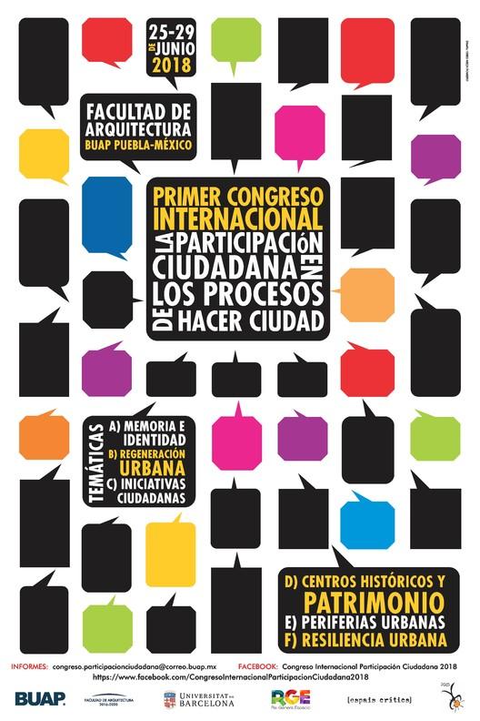 Congreso Internacional La Participación Ciudadana en los Procesos de Hacer Ciudad, Mtro. Obed Meza Romero