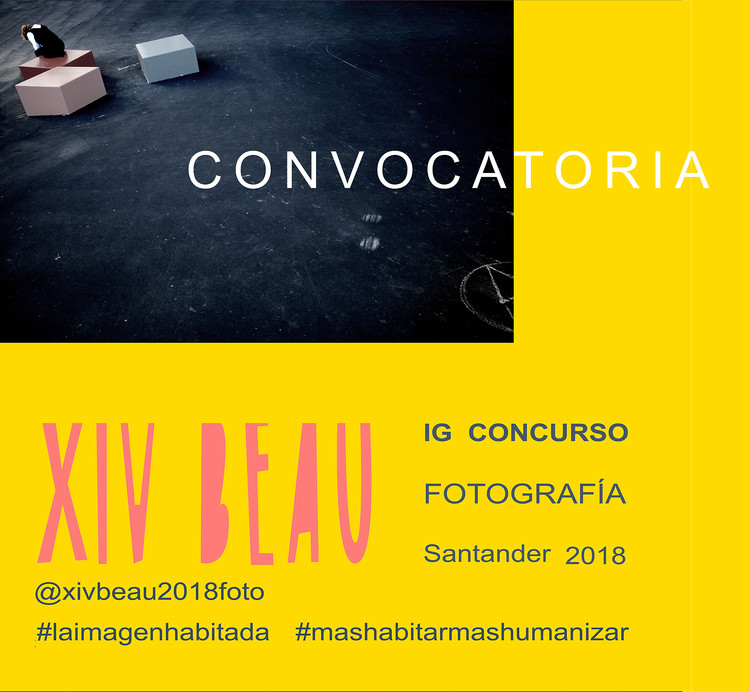 Convocatoria 'Fotografía en Instagram' para exposición en la XIV BEAU