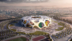 AFL Architects Reveal Images of Turkey's Soccer Stadium for UEFA Euro 2024 Bid