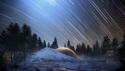 Snøhetta Designs Planetarium and Interstellar Cabins in Norwegian Forest