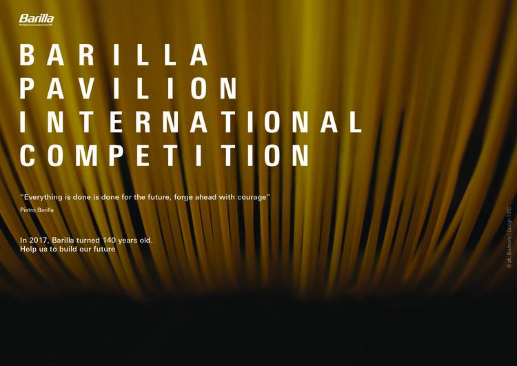 Barilla Pavilion International Competition | Open Call, Barilla Pavilion Internation Competition
