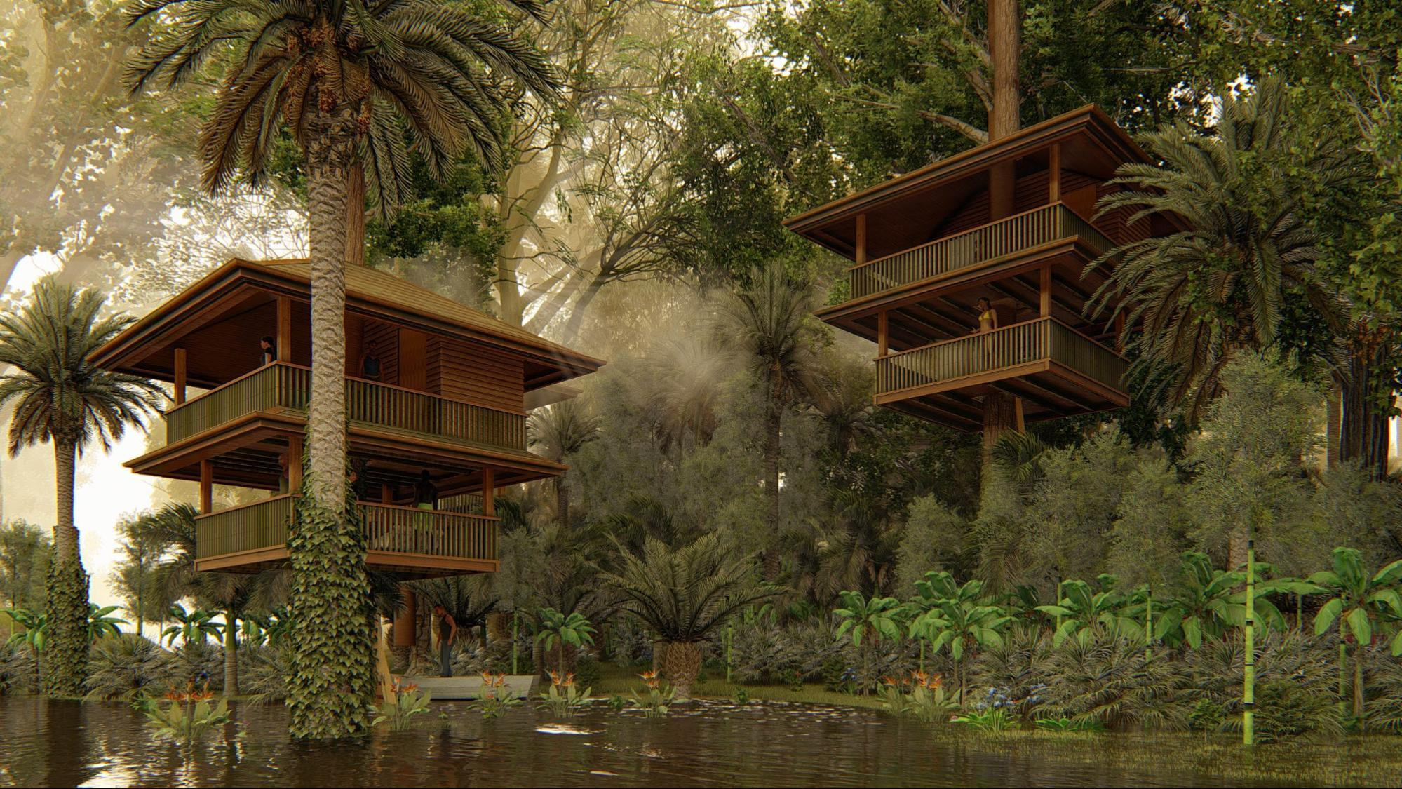 Landscape Architecture Rendering