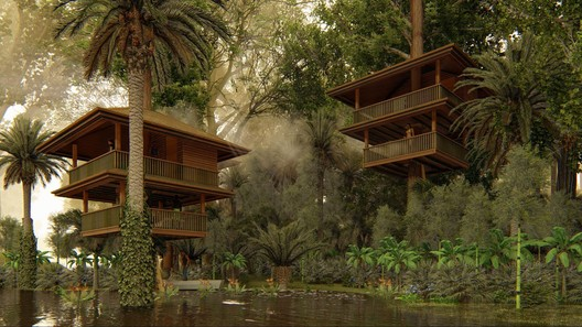 How 3D Renders Helped Trigger Life-Changing Development for an Indigenous Surinamese Community