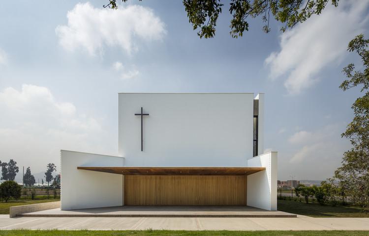 Iglesia Santa Cecilia / FBD Arquitectura y Diseño Urbano + Verónica López, © Enrique Guzmán G.