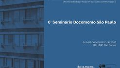 Chamada de artigos para o 6° Seminário Docomomo São Paulo - A arquitetura moderna paulista e a questão social