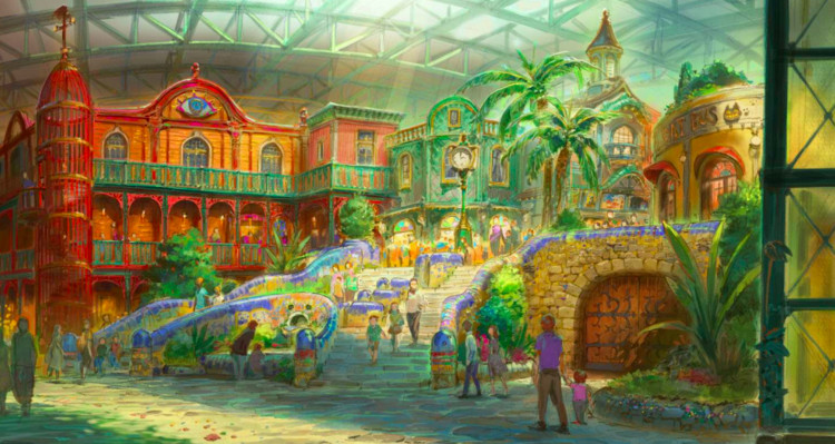 A Studio Ghibli Theme Park is Coming to Japan in 2022, The Big Ghibli Warehouse. Image Courtesy of Studio Ghibli / Aichi Prefecture