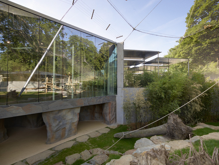 Restaurant And Aviary At The Antwerp Zoo Studio Farris Architects Archdaily