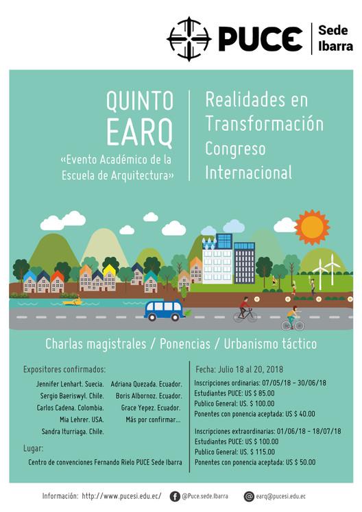 Quinto EARQ - Congreso Internacional Realidades en Transformación, Quinto EARQ