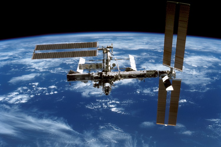 Como projetar onde não há gravidade? , © NASA <a href='https://www.flickr.com/photos/pingnews/491421253'>via Flickr</a> licensed under <a href='https://creativecommons.org/publicdomain/mark/1.0/'>Public Domain Mark 1.0</a>