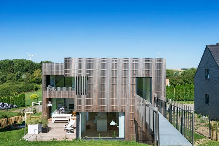 Habitation Mathieu / Crahay & Jamaigne, © Laurent Brandajs