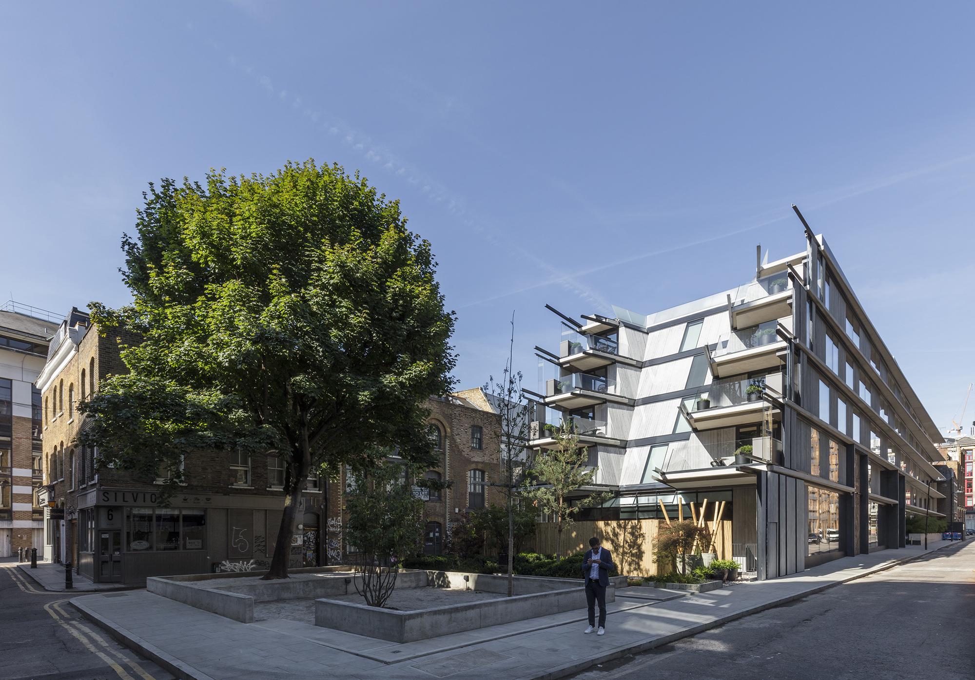Hotel Nobu Shoreditch / Ben Adams Architects