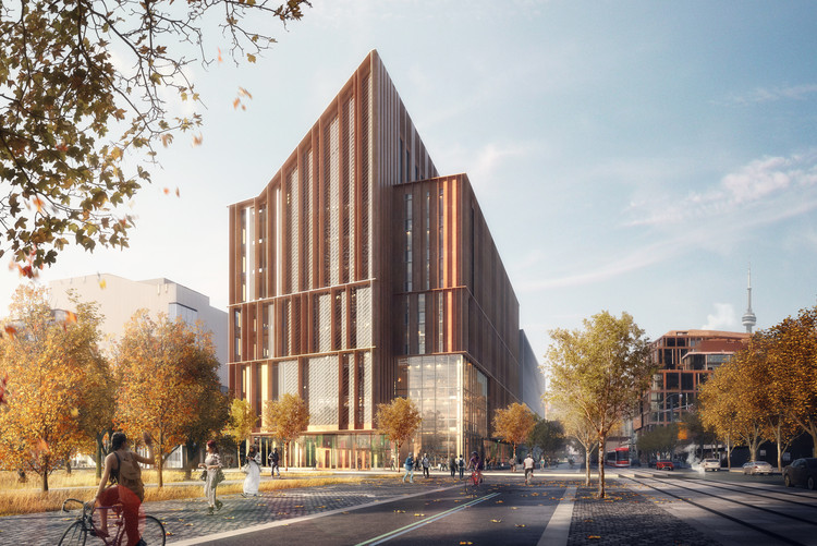 Toronto Competition Awards Timber Building to be Constructed on City's Waterfront, Courtesy of Moriyama & Teshima Architects