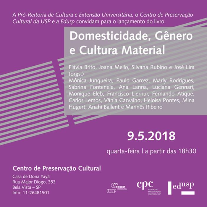 Domesticidade, gênero e cultura material