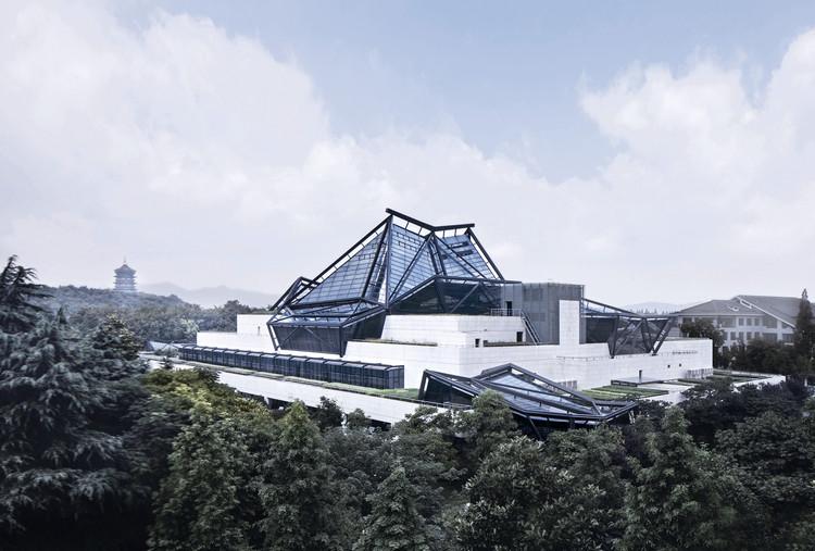 Zhejiang Art Museum / CCTN Design, External view. Image © Li Yao