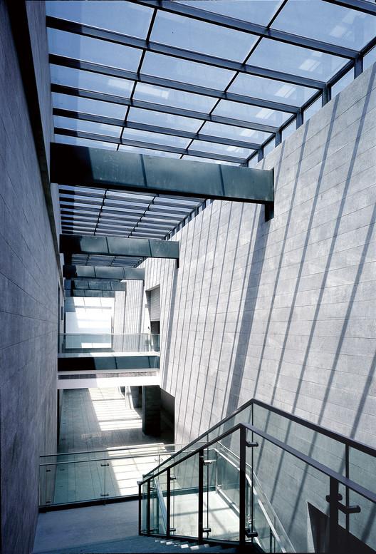 Linear light corridor. Image © CCTN Design