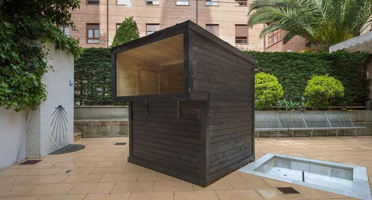 Sauna Finlandesa / Jairo Rodríguez (Burgos) para Concéntrico 04, © Josema Cutillas