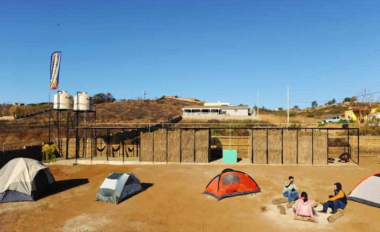 Campamento San Antonio de las Minas / Santos Bolívar + ANTE-, © Enrique Botello Abarca