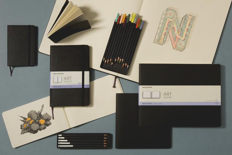 Moleskine celebra o processo criativo com nova linha de cadernos, Cortesia de Moleskine