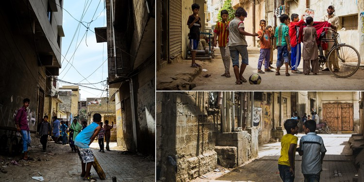 Informal Settlements of Karachi – Avenues of Life and Vitality. Image © Sakina Hassan