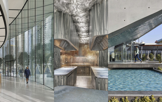 Apple Dubai Mall / Foster + Partners image © Nigel Young; Enigma / RCR Arquitectes - Pau Llimona image © cortesía de RCR Arquitectes/Pau Llimona; Concrete Restaurant / Boozhgan Studio image © Deed Studio. Image