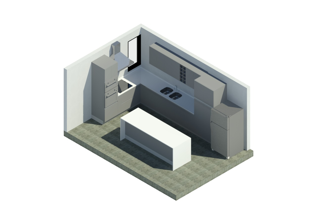 Gallery of Design an Efficient Kitchen by Downloading These BIM
