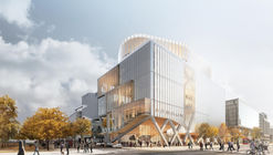 Provencher_Roy Envisions Futureproof Timber Vertical Campus Building For Toronto
