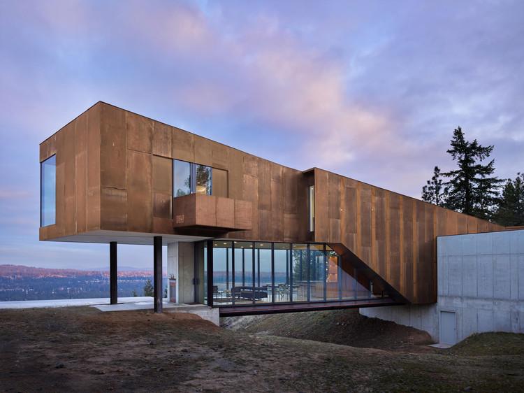 Residência Rimrock / Olson Kundig, © Benjamin Benschneider