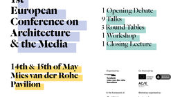 Architecture & the Media – Architecture Week 2018