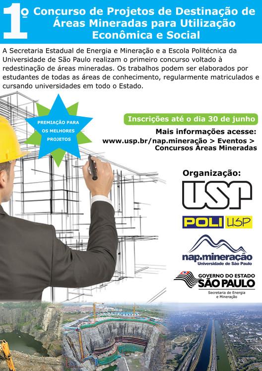 I Concurso de Projetos de Destinação de Áreas Mineradas para Utilização Econômica e Social, Concurso de Áreas Mineradas para utilização econômica e social