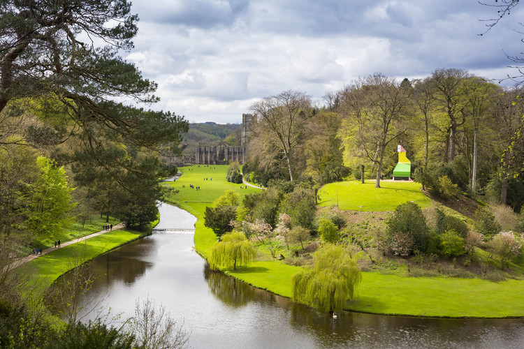 Contemporary Follies Open at Fountains Abbey and Studley Royal Park, © Charlotte Graham