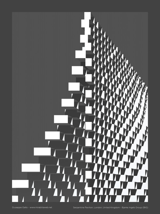 Serpentine Pavilion. Image Courtesy of Giuseppe Gallo via Mirabilia