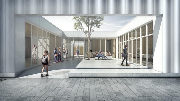 El patio como mediación y lugar: conoce los ganadores del concurso Centro Cultural de Añelo, Cortesía de Fernando R. Matos