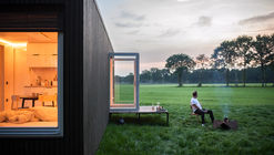 Slow Cabins (TM) in Belgium  / Xavier Leclair