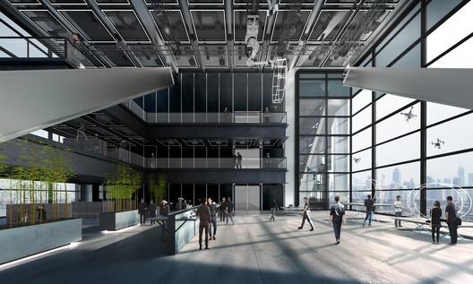 Dajiang innovation HQ, Shenzen, China. Image Courtesy of Foster + Partners