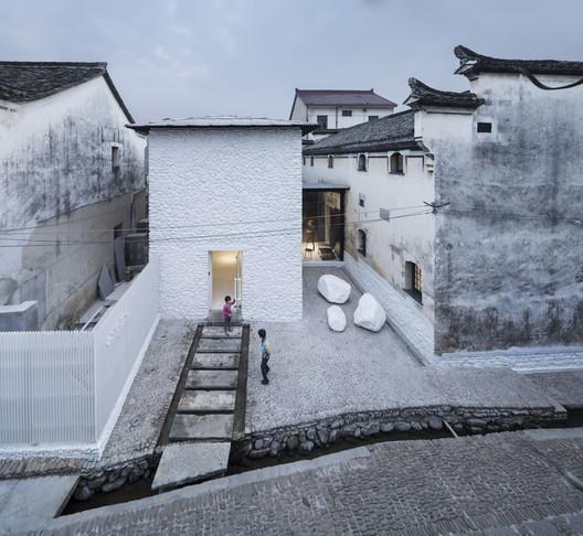 Ruralation Shenaoli Library / Zhang Lei. Image © Yao Li, Courtesy Pavilion of China at the 16th Venice Architecture Exhibition, La Biennale di Venezia