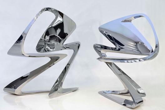 Z-Chair, 2011. Zaha Hadid. Enrico Sua Ummarino, courtesy of Sawaya & Moroni