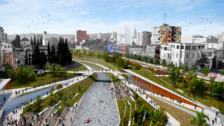 MAU Architecture Plans an Urban and Landscape Regeneration of Fier's City Center in Albania, Courtesy of MAU Architecture