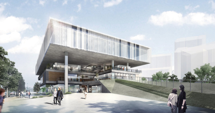 Benoy will Transform a Power Plant Into a Green, Art Center in China's Gongshu District, Courtesy of Benoy