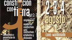 Convocatoria de obras construidas para 'Encuentro de Construcción con Tierra' en Uruguay