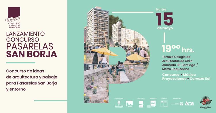 Lanzamiento de Concurso de Ideas de Arquitectura y Paisaje para Pasarelas San Borja y Entorno, Concurso Pasarelas San Borja