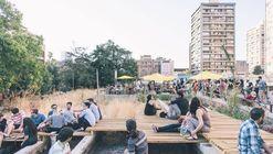 Lanzan nueva convocatoria internacional de ideas de arquitectura y paisaje para Pasarelas San Borja en Santiago